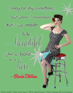 Perfect Pinup Rosie DiVine has the Voice of an Angel