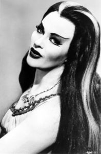 Yvonne De Carlo, born 1922, best known for her role as Lily Munster.