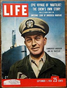 1958 - Commander Anderson and his Nautilus