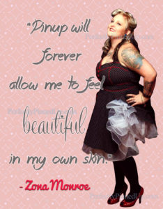 Perfect Pinup Zona Monroe Never Gives Up